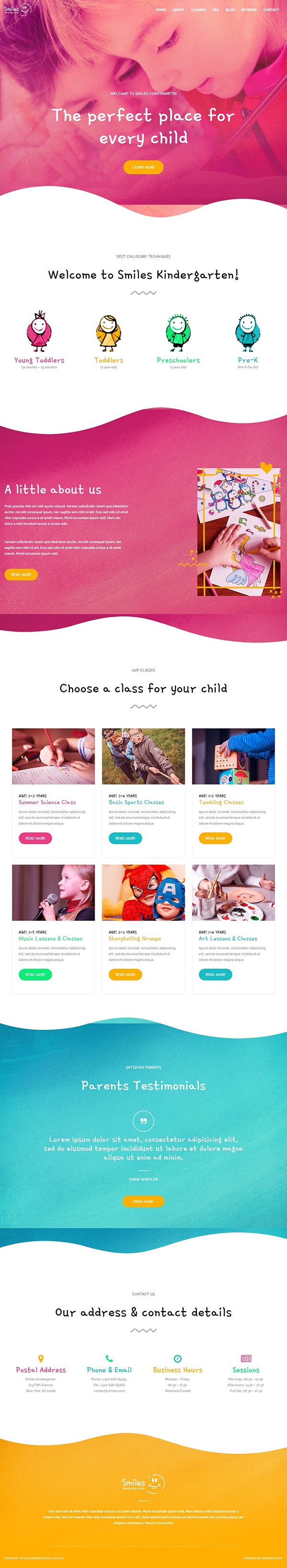 Best - Kindergarten - Pre - Primary - Play - School - Website Design - WebGenWorld.com